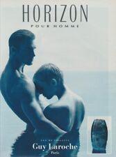 Publicité papier - advertising paper - Horizon pour Homme de Guy Laroche