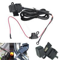 for Car Motorcycle 12V 2.1A USB Charger Socket Voltage Voltmeter Power Port