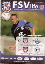Fsv Frankfurt-arminia bielefeld 2010/11-sc Paderborn dfb trofeo-stadionheft