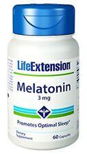 Melatonin - Life Extension - 3 mg - 60 Capsules