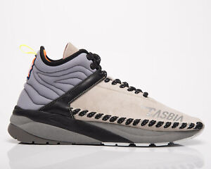 CASBIA Hammerhead Mid Men's Grey Casual Fashion Lifestyle Athletic Sneakers Shoe
