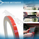 For Auto Truck Car Acrylic Foam Double Sided Strong 3M Tape 0.3Inch W 90Inch L