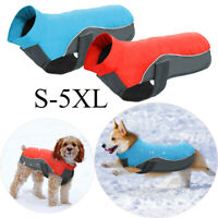 Indoor Chaleco de perro Cachorro wadded Jacket Mascota abrigo Impermeable