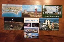 VINTAGE 1970s/80s NASA POSTCARDS LOT OF 6 UNMAILED & MAILED KENNEDY SPACE CENTER
