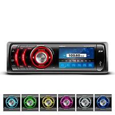 Autoradio Bluetooth Mp3 Porta Usb Vivavoce Din Iso Schermo Display Am/Fm Rds Aux