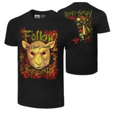 """Official WWE Authentic The Wyatt Family """"Follow The Buzzards"""" Retro T-Shirt"""