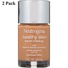 2 Pack Neutrogena Healthy Skin Liquid Makeup 115 Cocoa SPF 20 1 oz