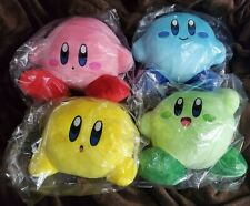 Multi Colored Kirby Plush Set Of 4 - Standard Size