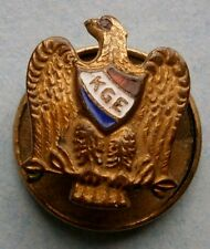 KGE (Knights of the Golden Eagle) Collar Pin, vintage