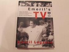 Emeril's TV Dinners, by Emeril Lagasse-1998 - Signed, 1st Ed, 1st Prtg. H/C Book
