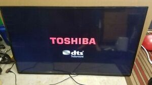 Toshiba LED LCD TV 55 inch HDMI With Remote