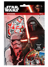 Star Wars Force Awakens Set of 700 Stickers Sheets Xmas Gift Party Bag
