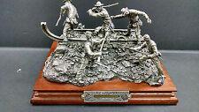 Chilmark Civil War Pewter Sculpture Last Resort signed by Francis Barnum 232/500