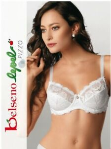REGGISENO LEPEL ART. 251 IN COPPA C-D  BALCONCINO IN PIZZO CON FERRETTO