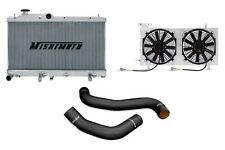 MISHIMOTO Radiator+Fan Shroud+Hose Kit Black for 08-14 Impreza WRX/STi MT X-Line