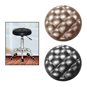 PU Removable Bar Stool Replacement Cushion Round Standard Chair Seat Non Slip