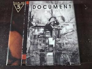 R.E.M.- Document 2X CD Box Set / Anniversary Edition / New Wave / REM