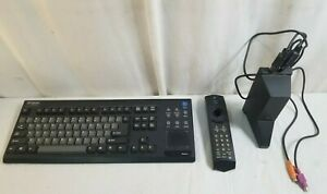 GATEWAY Destination 7001242 Keyboard & Remote w Receiver FOR PARTS & REPAIR ONLY