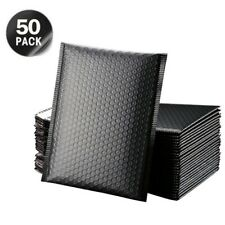 SET OF 50 Poly Bubble Padded Envelopes Postal Shipping Packaging Bags Waterproof