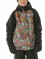 Burton × Marvel Youth Boy's Game Day winter Snowboard Jacket Marvel /True black