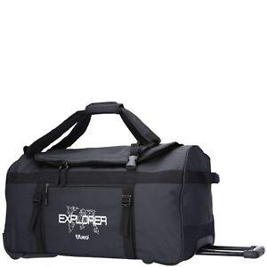 TheTrueC Reisetasche mit Rollen Explorer schwarz