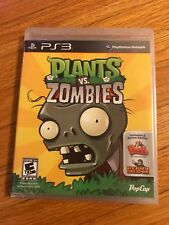 Plants vs. Zombies - Playstation 3 Game New Factory Sealed