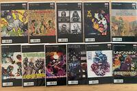 11 Marvel Hip Hop Variant Comic LOT NM X-Men Avengers Inhumans Civil War