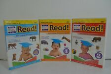 Your Baby Can Read DVD Lot of 3, Starter plus Volume 1 & 2