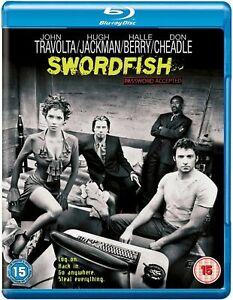 Swordfish  (Blu-ray, 2008)  Hugh Jackman & Halle Berry