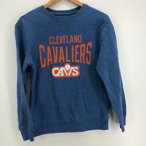 NBA Sweatshirt Youth XL Blue Cleveland Cavaliers NBA Basketball Crewneck