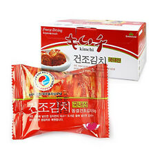 Freeze Dried Kimchi Korean Food Emergency Block For Ramen Noodles 54PCS