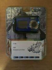Polaroid iE090 Dual Screen Shock & 18MP Waterproof Digital Camera Kit BLUE!