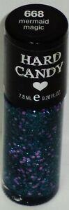 1 New HARD CANDY Nail Polish Nail Color / Enamel MERMAID MAGIC #668