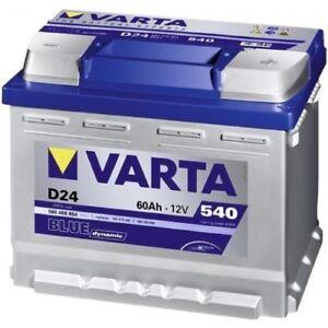 BATTERIA 60AH D24 VARTA BLUE DYNAMIC 540A(SPUNTO)