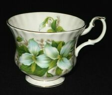 Royal Albert UK TRILLIUM colorful fine bone china tea cup