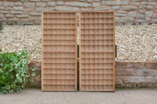 2x Vintage old wooden printers draw drawer / tray 36 x 82.5 cm - FREE POSTAGE