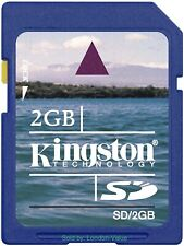 Kingston Technology 2GB SD Card Secure Digital Memory Card