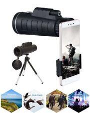 Camera Monocular Zoom Optical Lens Telescope HD 40X60 Tripod+Clip For Phone NEW