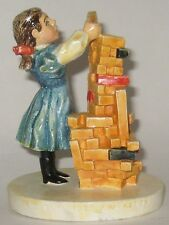 Baston Sebastian Girl w/Blocks Le Numbered And Signed 1979 We Ship Worldwide