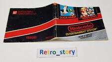 Nintendo NES - Duck Hunt & Super Mario Bros Notice / Instruction Manual