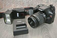 Canon Rebel T3 / 1100D 12.2MP SLR Camera with Kit Lens/ Flash ---- *Z9*