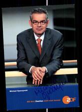 Michael Opoczynski ZDF Autogrammkarte Original Signiert # BC 100014