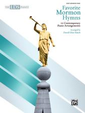 The LDS Pianist-Favorite Mormon Hymns-12 Piano Arrangements-MUSIC BOOK-NEW-SALE!