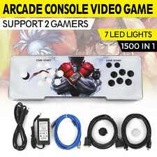 1500 in 1 Video Arcade Game Console Pandora Retro Box 9S Plug And Play LED LIGHT