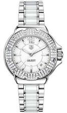 MINT TAG HEUER  FORMULA 1 WAH1215.BA0861 DIAMOND CERAMIC STEEL LADIES WATCH