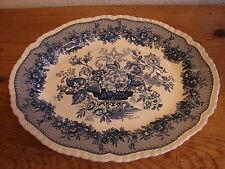 Antique plaque, Mason 's Ascot, bleu, 39x32cm