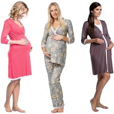Zeta Ville Women's Maternity Nursing Robe/Pyjamas/Nightdress MIX & MATCH - 591c