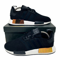 Adidas Originals NMD_R1 (Women's Size 10) Running Shoes Core Black Orchid Tint