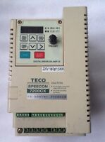 TECO 7200CX series inverter JNTSBDBA0002JK 220V 1.5KW