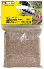NOCH 09372 - Pietrisco per massicciata ballast marrone, 250 g Scala H0,TT